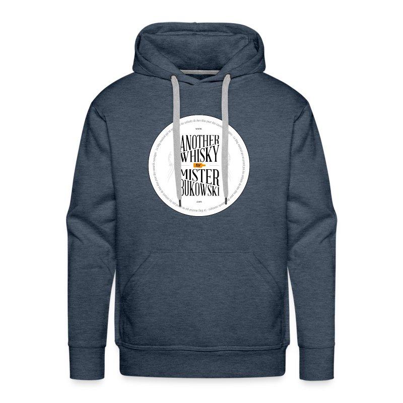 Stick-AnotherwhiskyHD.png - Sweat-shirt à capuche Premium pour hommes