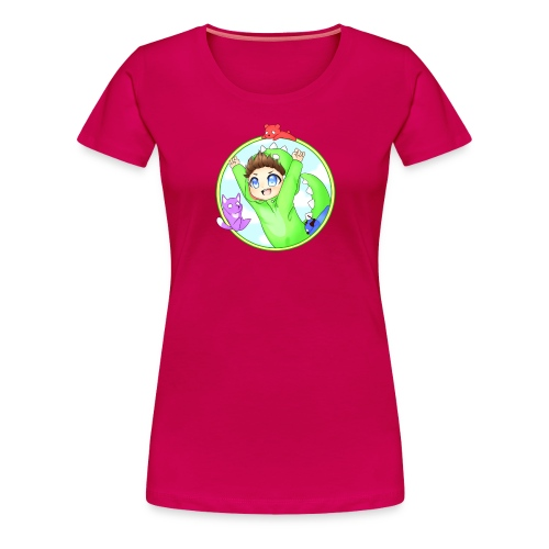Premium   Frauen   Dinofy - Frauen Premium T-Shirt