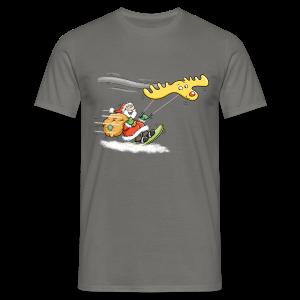 Kitender Weihnachtsmann - Herren-T-Shirt - Männer T-Shirt