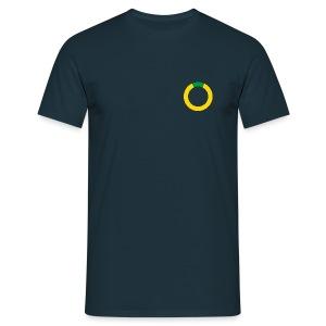 T-shirt: Plattsnacker. blau. - Männer T-Shirt