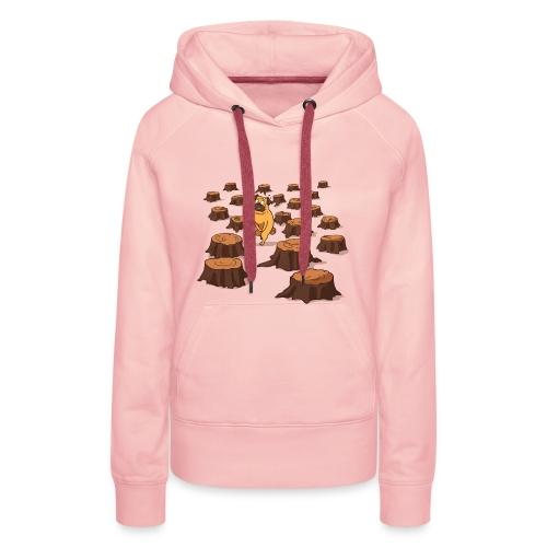 Mops-Bedürfnisse - Frauen Premium Hoodie