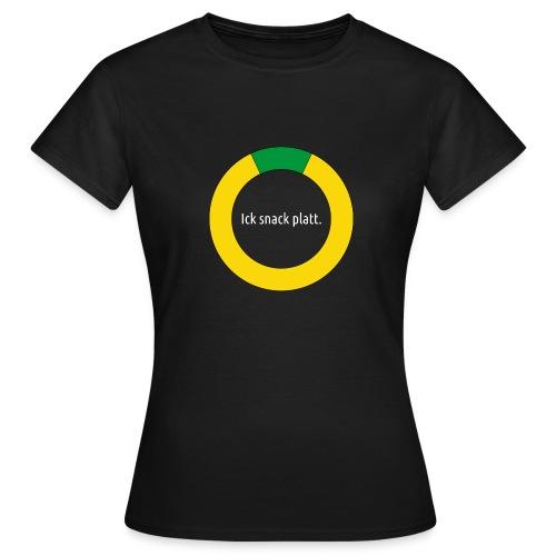T-shirt: grote Plattsnacker.Swatt. - Frauen T-Shirt