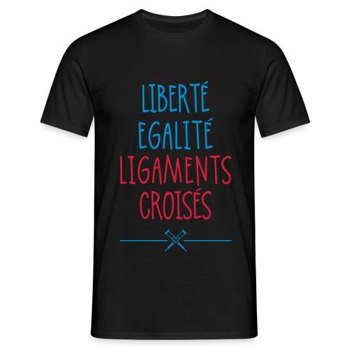 T-Shirt classique Ligaments croisés - T-shirt Homme