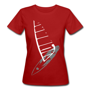 Windsurfing Lady's - Frauen Bio-T-Shirt