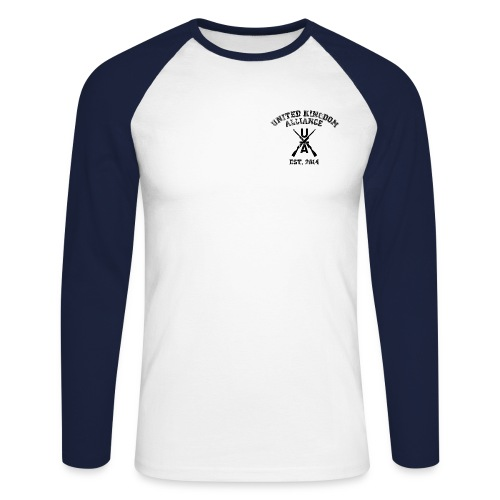 UKA Baseball Tee - Men's Long Sleeve Baseball T-Shirt