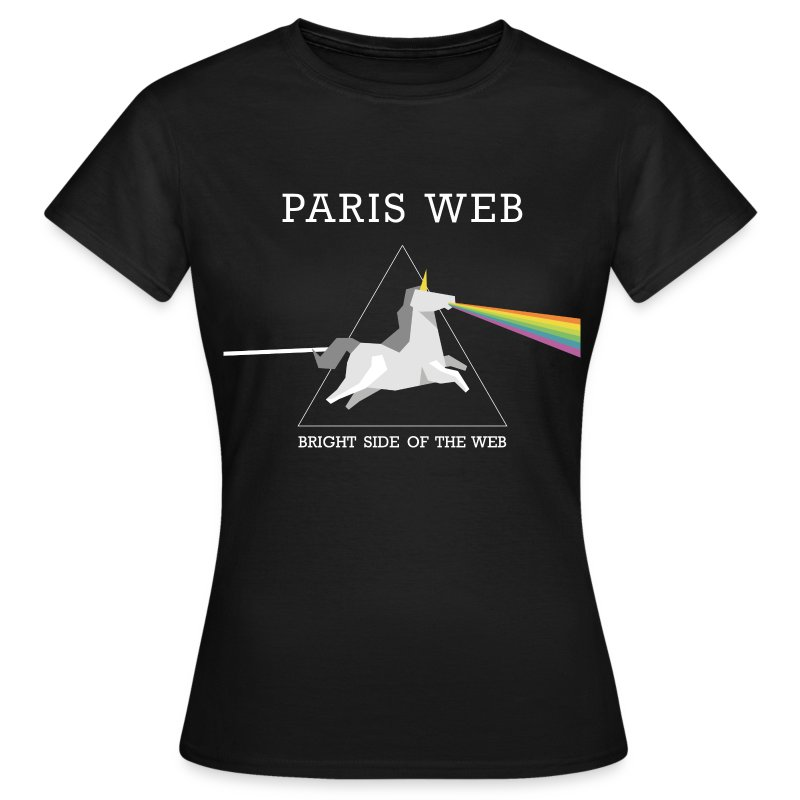 the bright side of the web - Tshirt Femme - T-shirt Femme