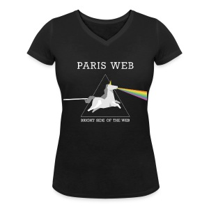 the bright side of the web - Tshirt Femme col V - T-shirt col V Femme