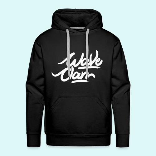 WaVe Clan Signature Men's Hoodie  - Men's Premium Hoodie