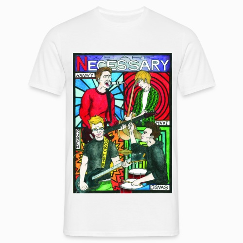 Necessary - Invisible Vision (Special Edition) - Männer T-Shirt