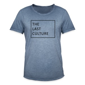 The Last Culture - Männer Vintage T-Shirt