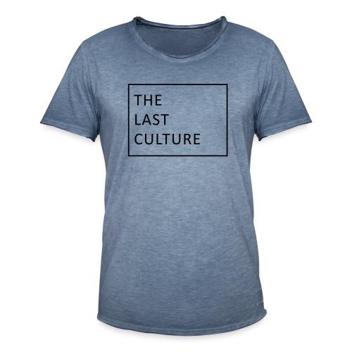 The Last Culture - Männer Vintage T-Shirt