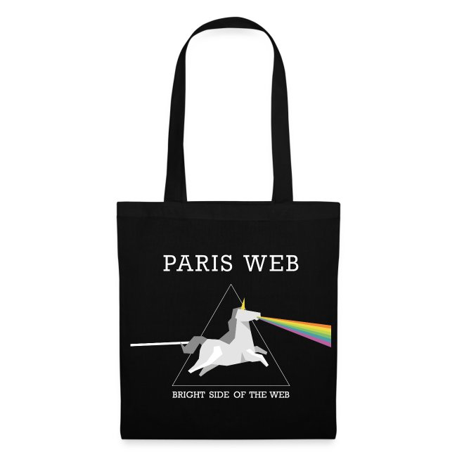 the bright side of the web - Totebag