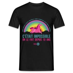 C'était impossible - Tshirt Homme - T-shirt Homme