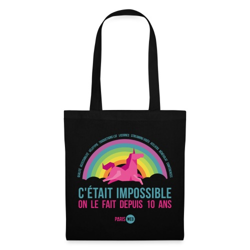 C'était impossible - Totebag - Tote Bag