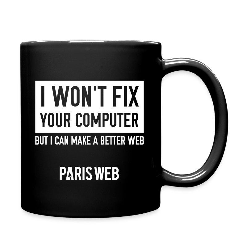 I won't fix your computer - Mug - Tasse en couleur