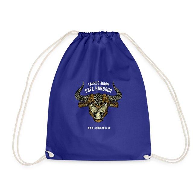 Taurus Moon Drawstring Bag