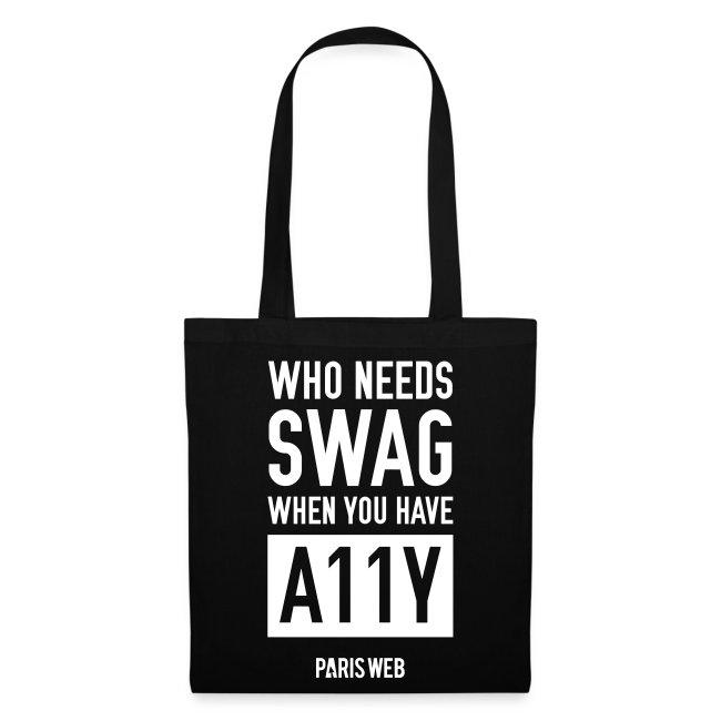 SWAG A11Y - Totebag