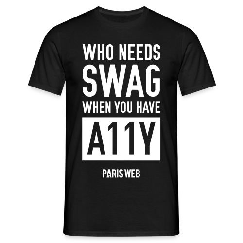 SWAG A11Y - Tshirt Homme - T-shirt Homme