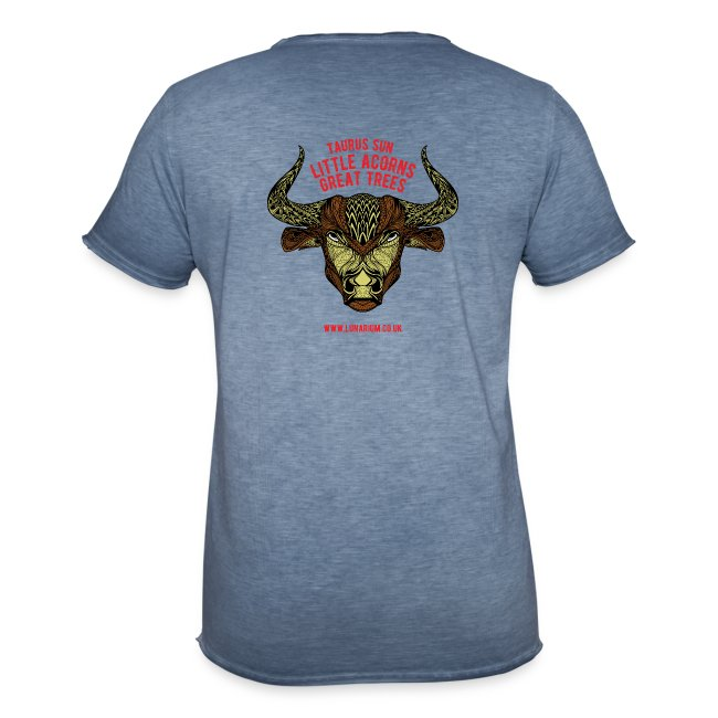 Taurus Moon Men's Vintage T-Shirt