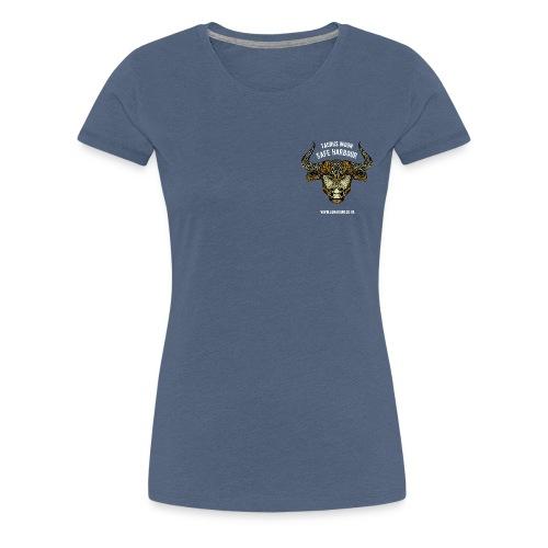 Taurus Moon Women's Premium T-Shirt - Women's Premium T-Shirt