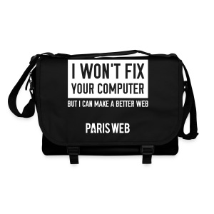 I won't fix your computer - Sac à bandoulière - Sac à bandoulière