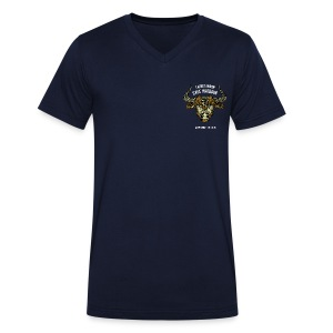 Taurus Moon Men's V-Neck T-Shirt - Men's V-Neck T-Shirt