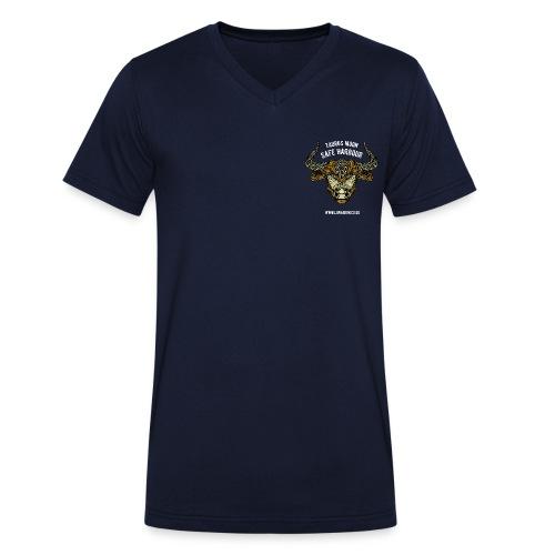 Taurus Moon Men's V-Neck T-Shirt - Men's Organic V-Neck T-Shirt by Stanley & Stella