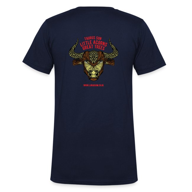 Taurus Moon Men's V-Neck T-Shirt