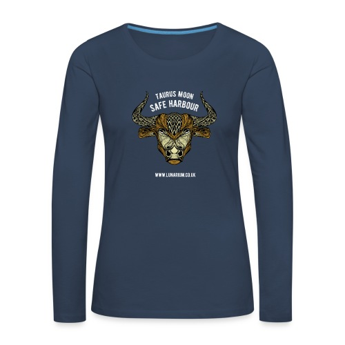 Taurus Moon Women's Premium Longsleeve Shirt - Women's Premium Longsleeve Shirt