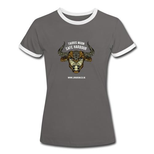 Taurus Moon Women's Ringer T-Shirt - Women's Ringer T-Shirt