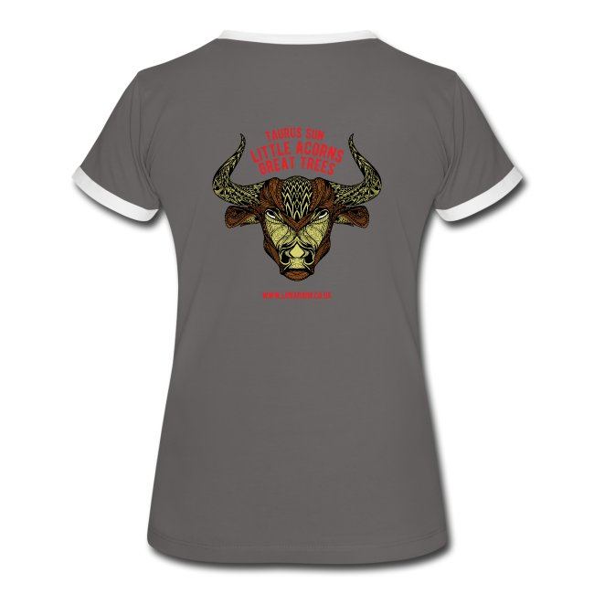 Taurus Moon Women's Ringer T-Shirt
