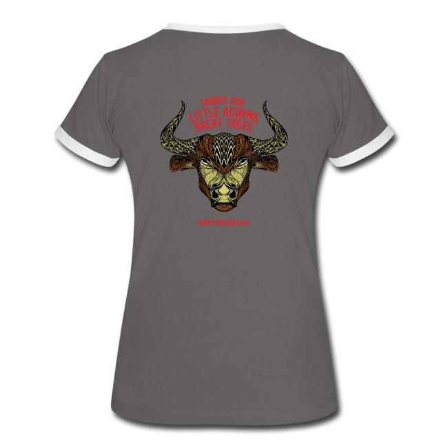 Taurus Moon Women's Ringer T-Shirt