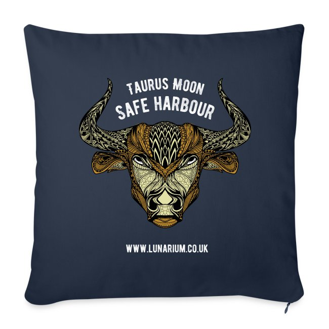Taurus Moon Sofa pillow cover 44 x 44 cm