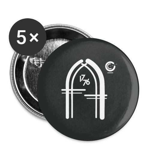 Truth Pins x 5 - Buttons large 56 mm