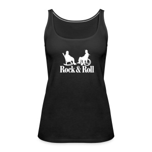 Rock n Roll 1clr New Tops - Vrouwen Premium tank top