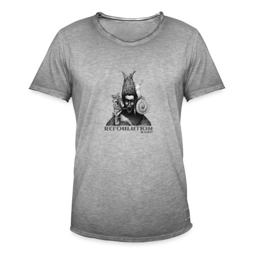 Refoulution by Le:Fou - TShirt Men - Limited Edition - Männer Vintage T-Shirt