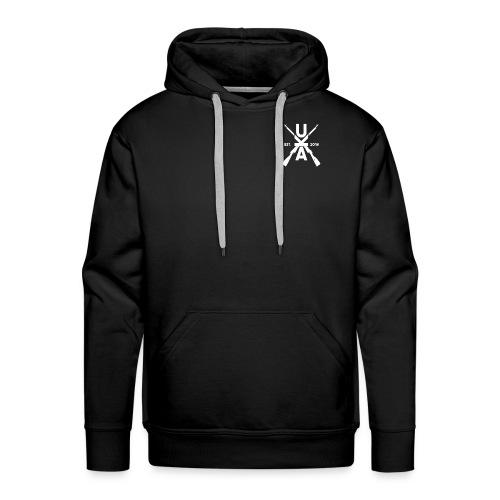 UKA Logo Front and Back Premium Hoodie - Men's Premium Hoodie