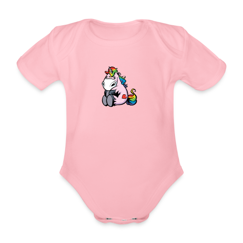 Baby Boddy Unicorn - Baby Bio-Kurzarm-Body
