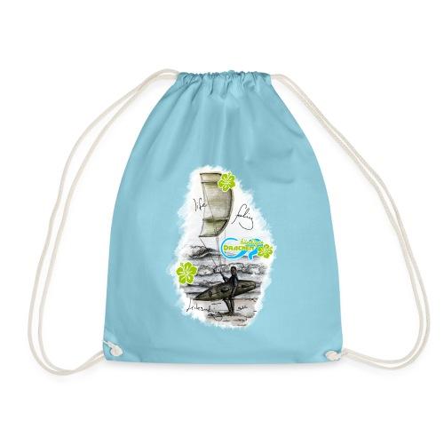 Drachenbändiger Spezial Beutel – Kitesurfer - Turnbeutel