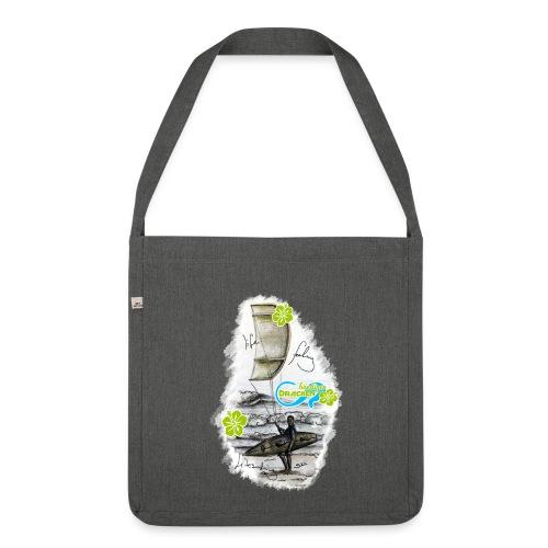Drachenbändiger Spezial Tasche – Kitesurfer - Schultertasche aus Recycling-Material