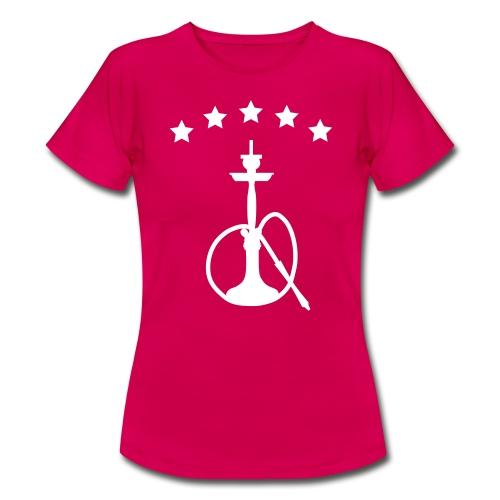 Shisha mit Sternen - Frauen T-Shirt