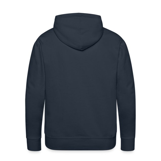 Button - Männer Premium Kapuzenpullover