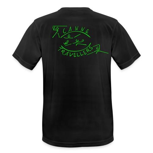 Funktionsshirt (Männer) mit eigenem Namen auf rechtem Arm - Männer T-Shirt atmungsaktiv