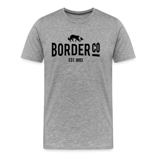 Border Co - T-shirt Premium Homme