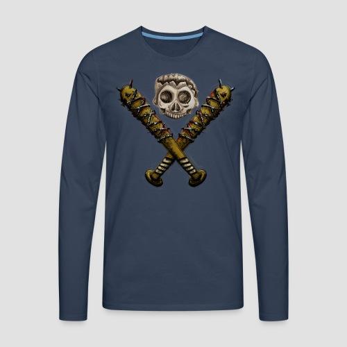 Negan Tribute - Männer Premium Langarmshirt
