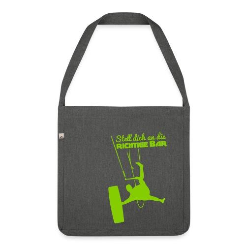Board-Off richtige Bar Tasche - Schultertasche aus Recycling-Material
