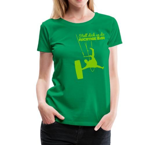 Board-Off richtige Bar Mädls T-Shirt - Frauen Premium T-Shirt