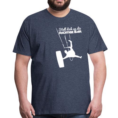 Board-Off richtige Bar Bursch'n T-Shirt - Männer Premium T-Shirt