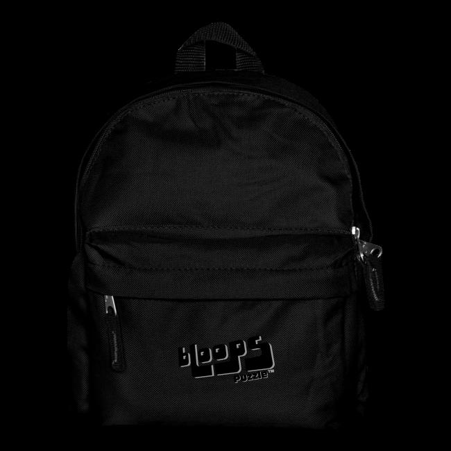 """Backpack for kids """"bLoops Puzzle"""" (printed black shadowed)"""