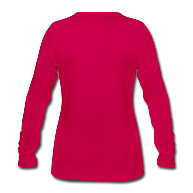 """Classic Longsleeve Shirt for women """"bLoops Puzzle"""" (printed pink)"""